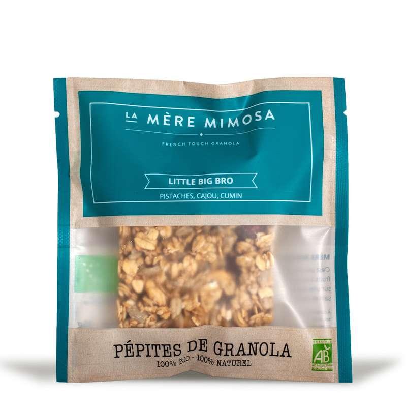 """Snack salé de granola artisanal """"Little Big Bro"""" BIO, La Mère Mimosa (35 g)"""