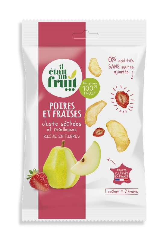 Snacking Chips de Poire et Fraise, Il Etait Un Fruit (30 g)