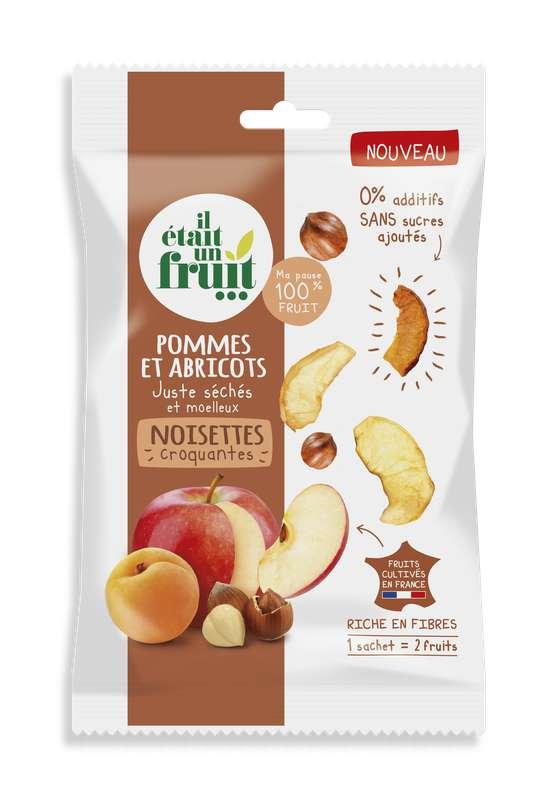 Snacking Chips de Pomme, Abricot et Noisette, Il Etait Un Fruit (30 g)