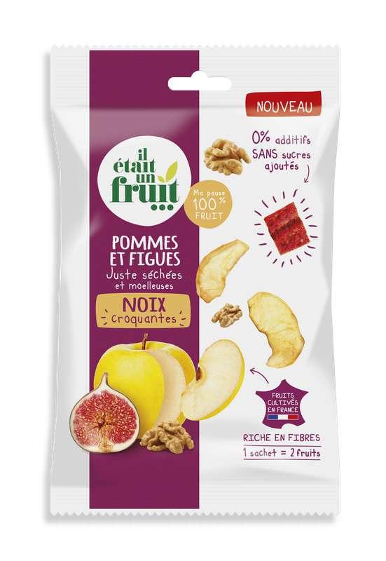 Snacking Chips de Pomme, Figue et Noix, Il Etait Un Fruit (30 g)