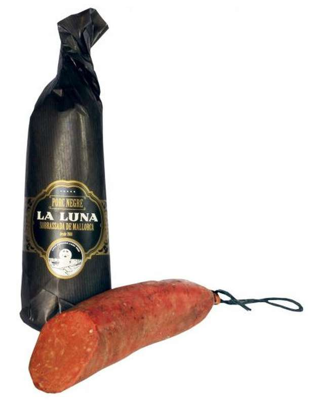 Sobrassada au porc noir de Majorque, La Luna (400 g)