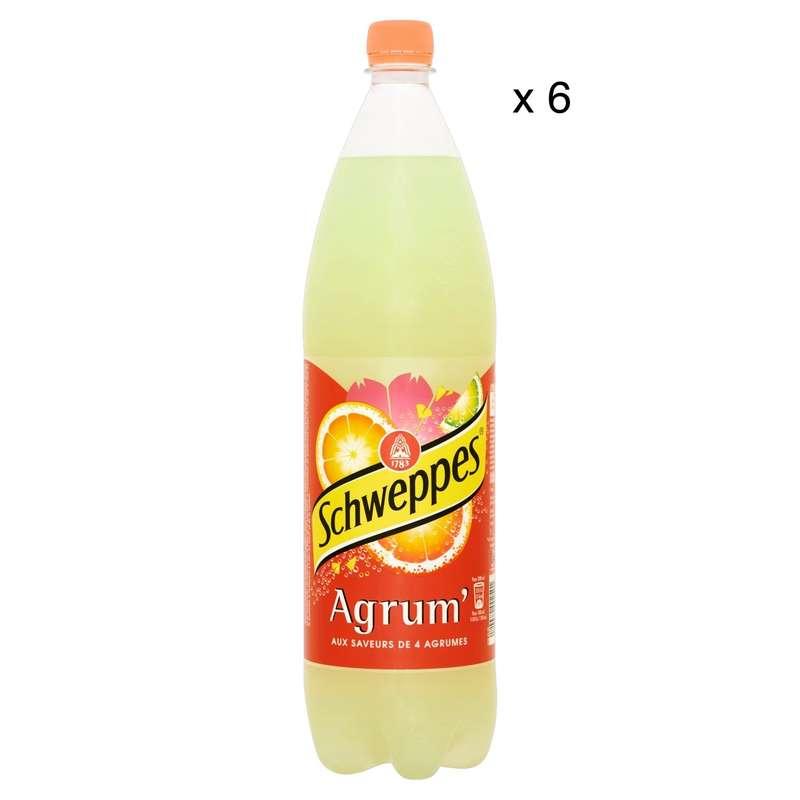 Pack de Schweppes Agrum' (6 x 1,5 L)