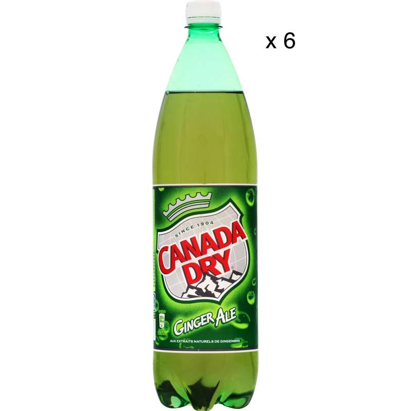 Pack de Canada Dry Ginger Ale (6 x 1,5 L)