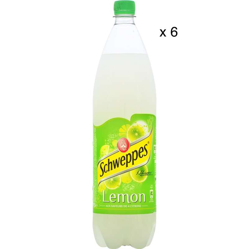 Pack de Schweppes Lemon (6 x 1,5 L)
