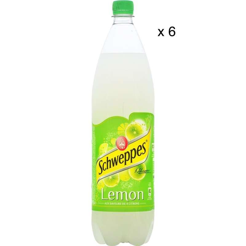 Pack de Schweppes Lemon (6 x 1,5 L)