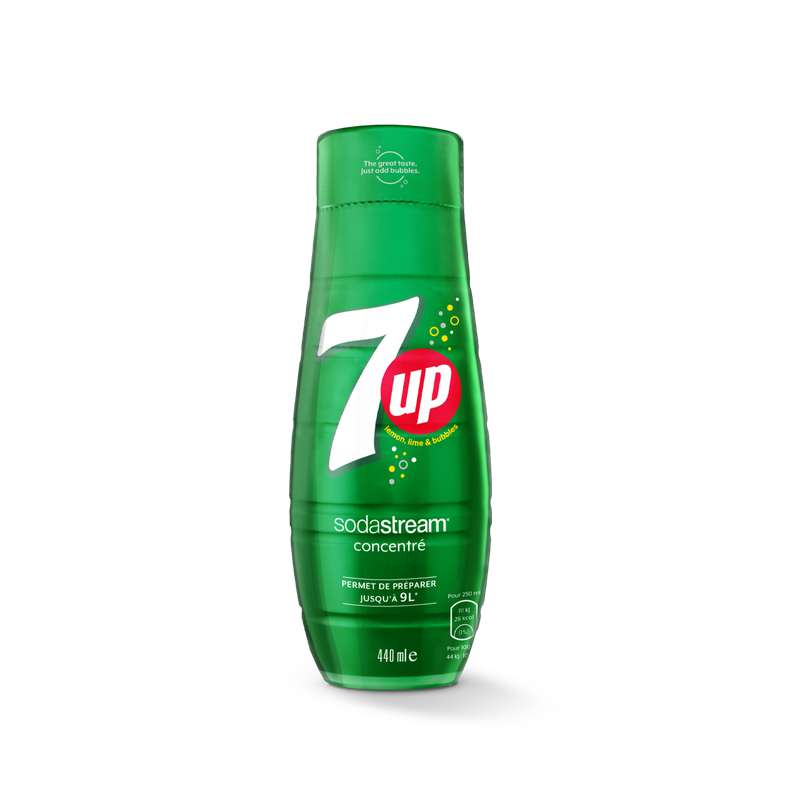 Concentré 7up, Sodastream (44 cl)