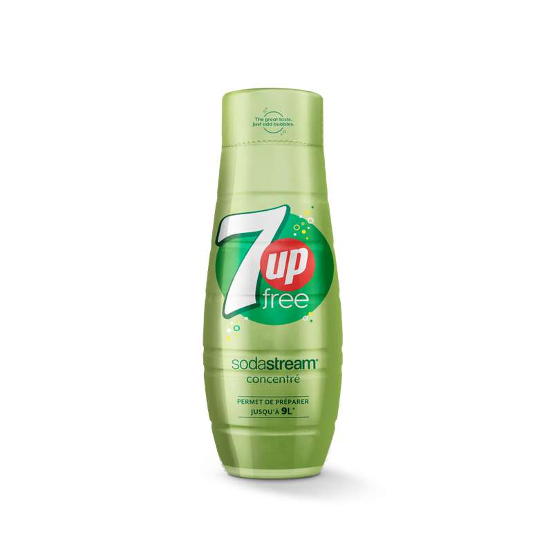 Concentré 7up free, Sodastream (44 cl)