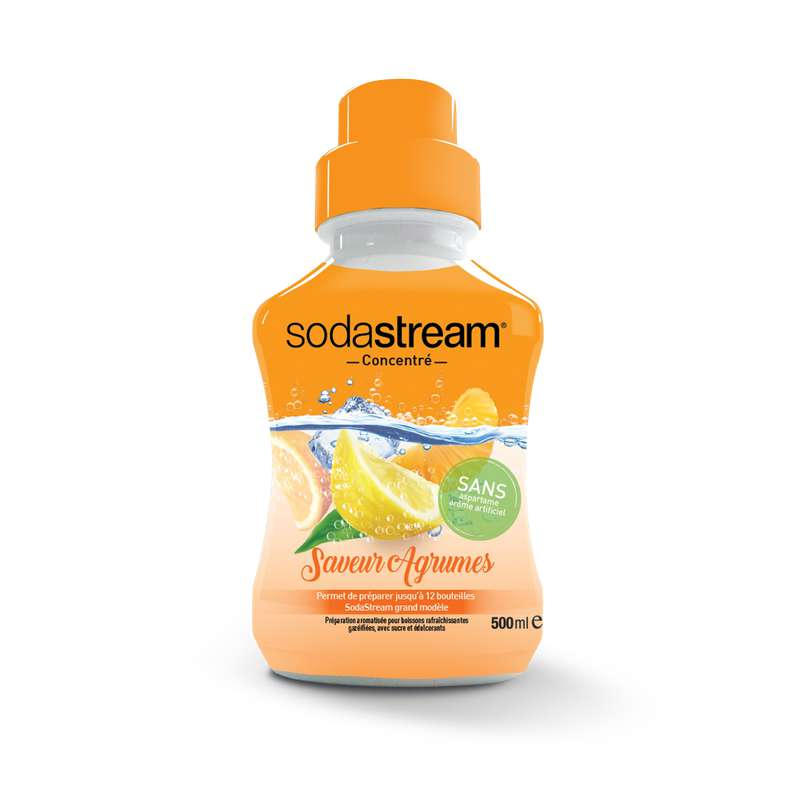 Concentré saveur agrumes, Sodastream (50 cl)