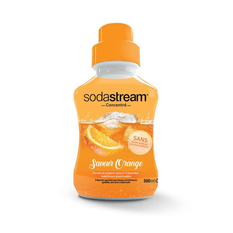 Concentré saveur orange, Sodastream (50 cl)