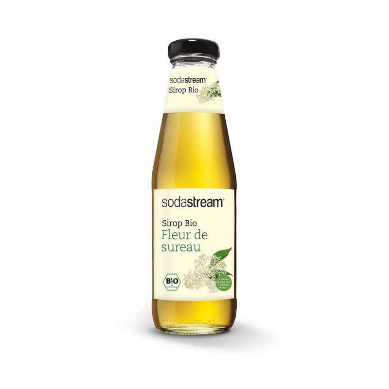 Sirop BIO fleur de sureau, Sodastream (50 cl)
