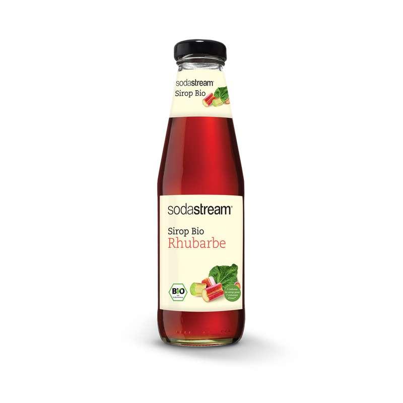 Sirop BIO rhubarbe, Sodastream (50 cl)