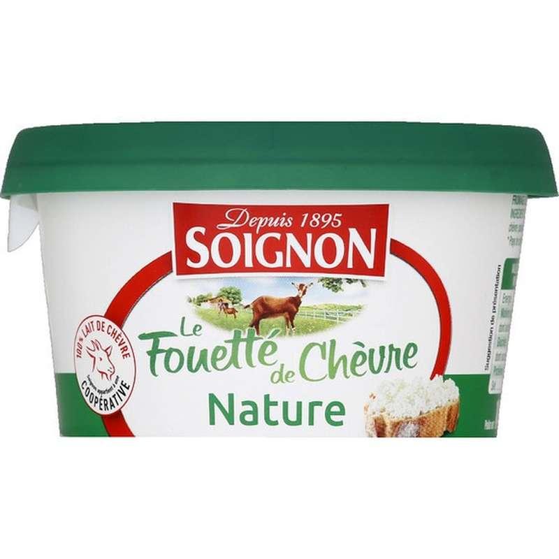 Fromage de Chèvre fouetté nature, Soignon (140 g)