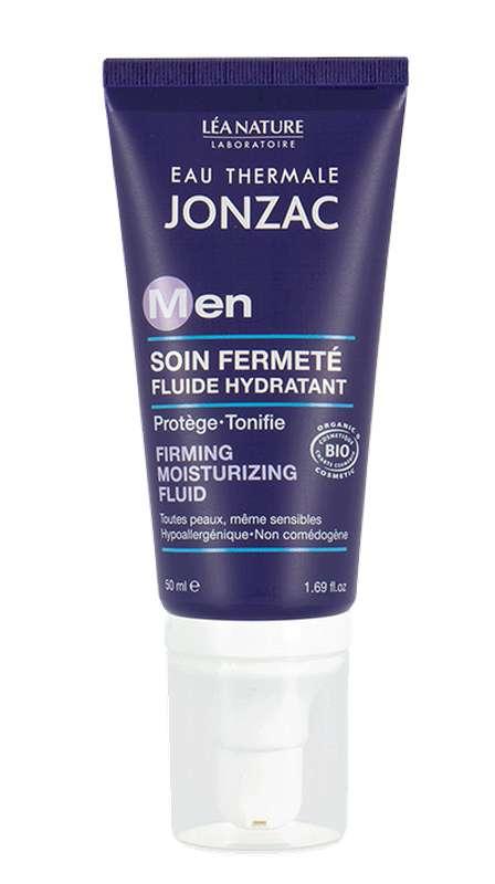 Soin fermenté fluide hydratant For Men BIO, Eau thermale de Jonzac (50 ml)
