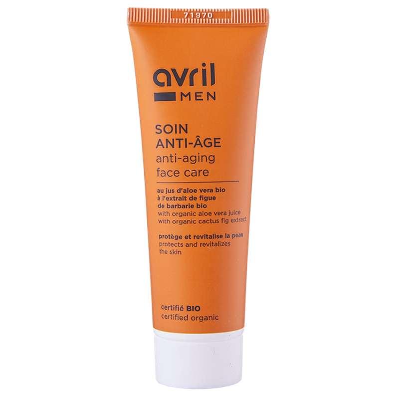 Soin anti-âge homme certifié BIO, Avril MEN (50 ml)