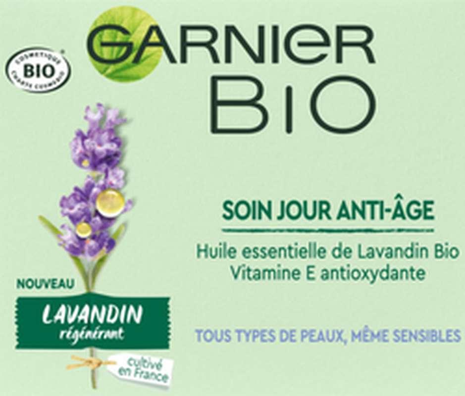 Soin de jour anti-âge régénérant BIO, Garnier (50 ml)