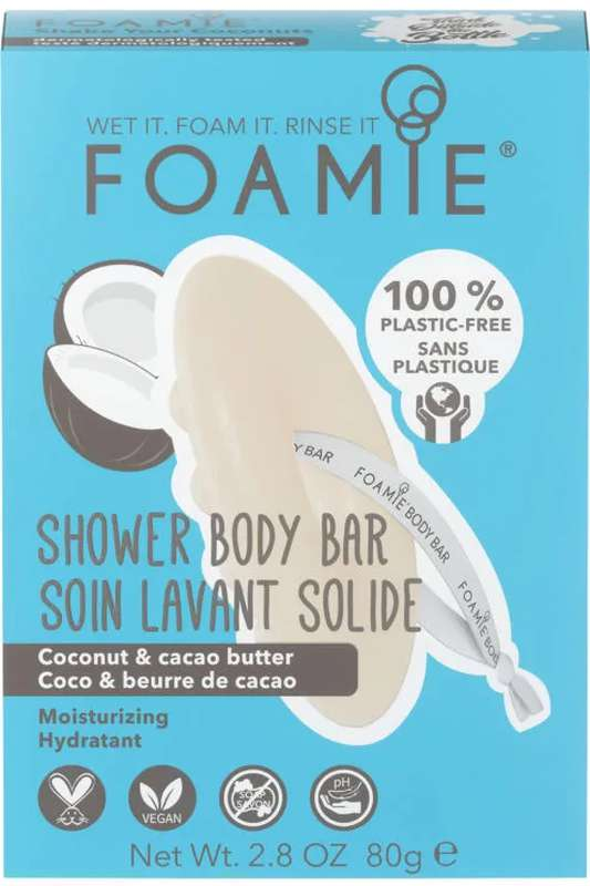 Soin lavant solide Shake Your Coconuts, Foamie