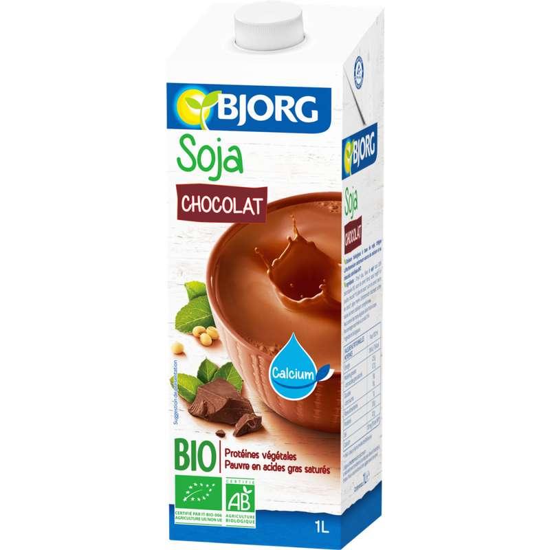 Boisson au soja au chocolat BIO, Bjorg (1 L)