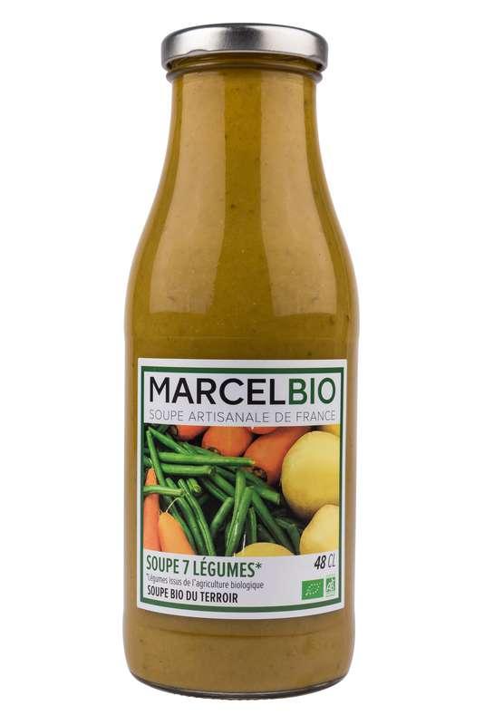 Soupe aux 7 légumes BIO, Marcel BIO (48 cl)