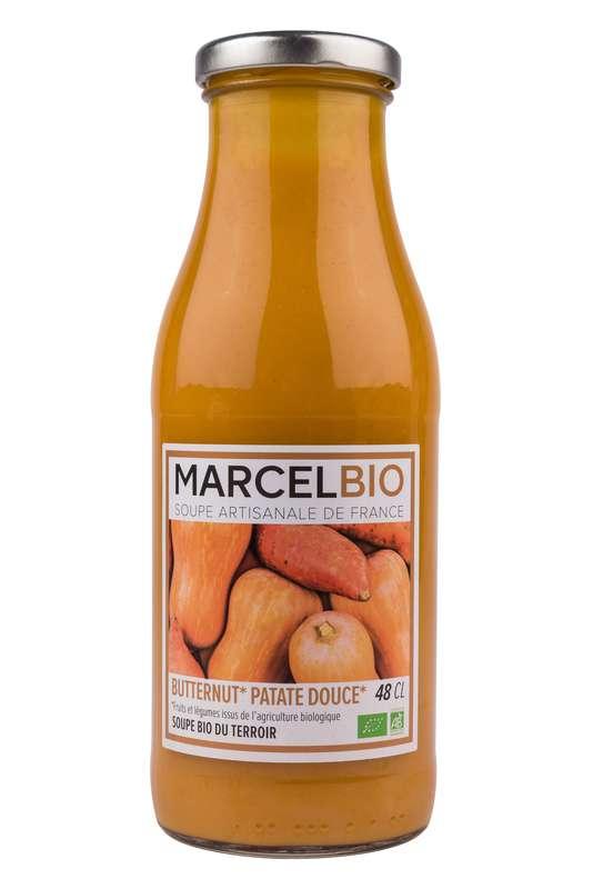 Soupe de Butternut et Patate Douce BIO, Marcel BIO (48 cl)