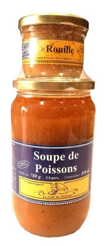 Soupe de Poissons et Rouille, Le Vieux Bistrot (870 g)