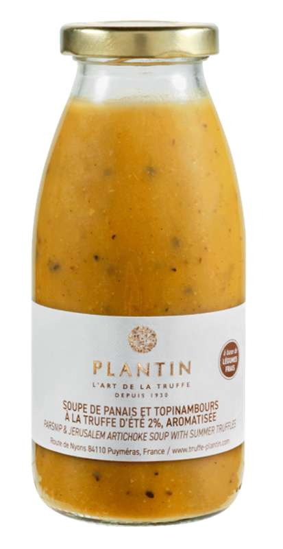Soupe de panais et topinambours à la truffe d'été 2% aromatisée, Plantin (25 cl)