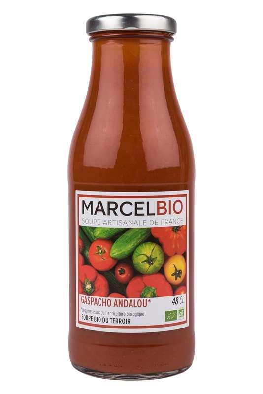 Soupe froide Gaspacho Andalou BIO, Marcel BIO (48 cl)