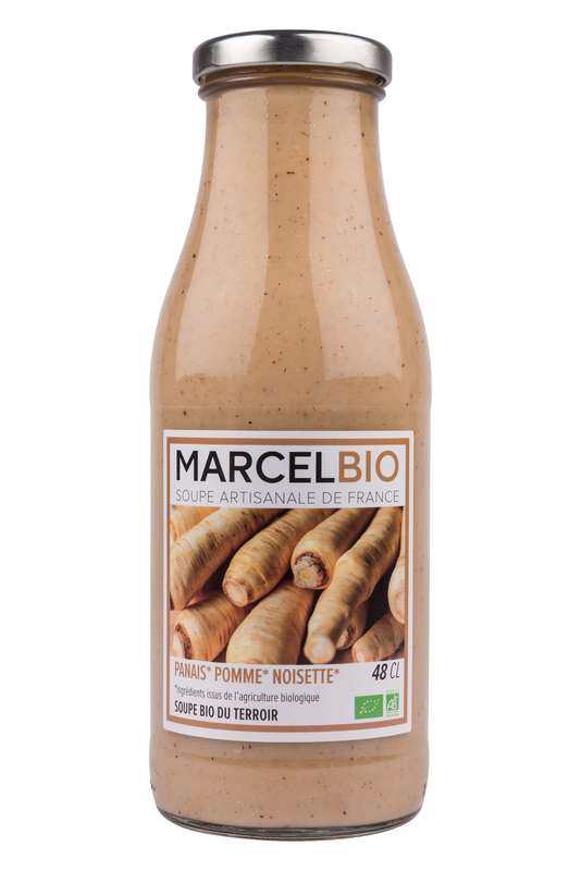 Soupe Panais, Pomme et Noisette BIO, Marcel BIO (48 cl)