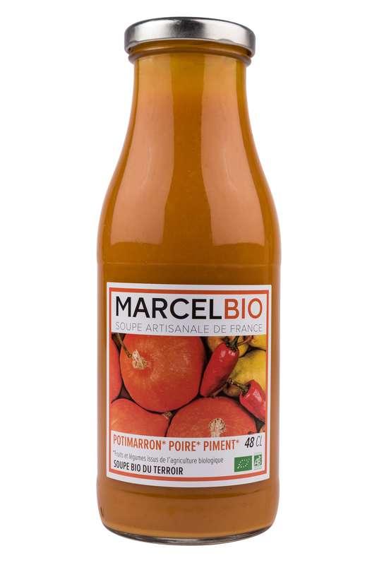 Soupe Potimarron, Poire et Piment BIO, Marcel BIO (48 cl)
