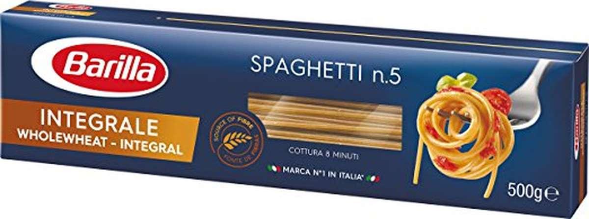 Spaghetti au blé complet, Barilla (500 g)