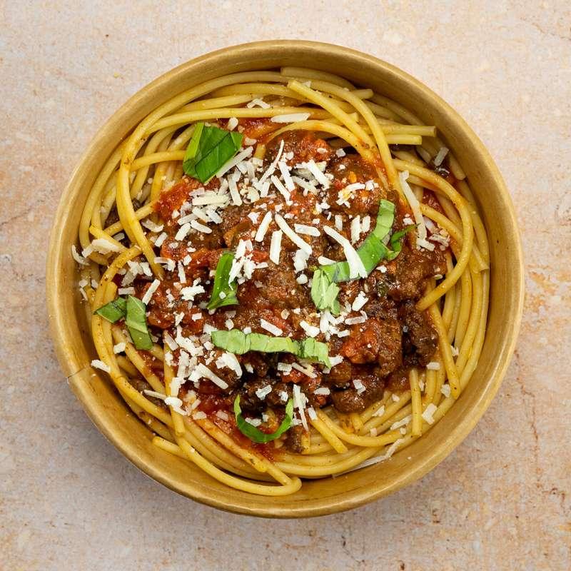 Spaghetti bolognaise, nouvelle recette (300 g)