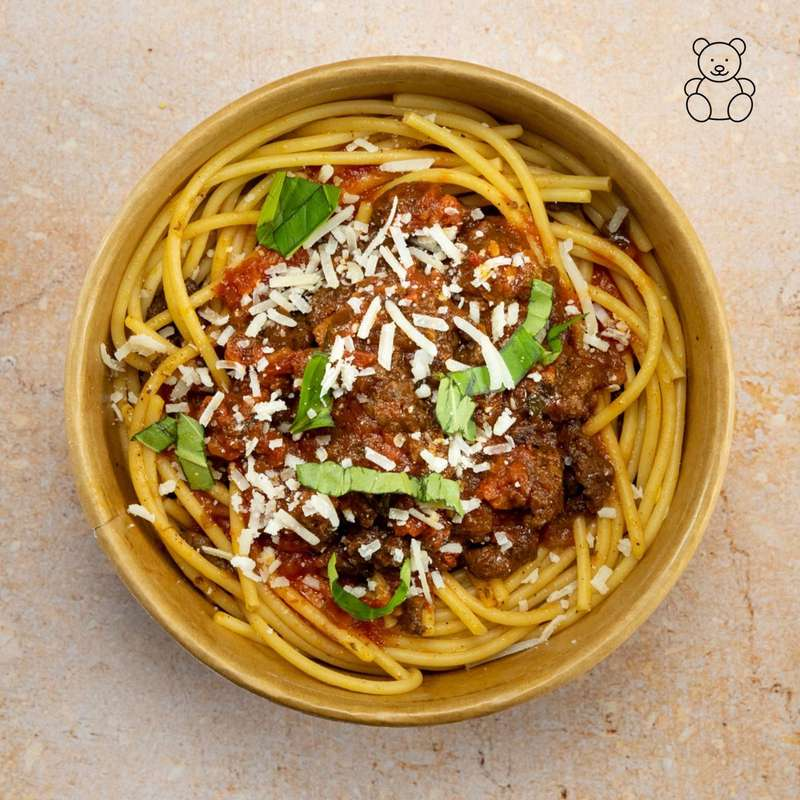 Spaghetti bolognaise (portion enfant 200 g)