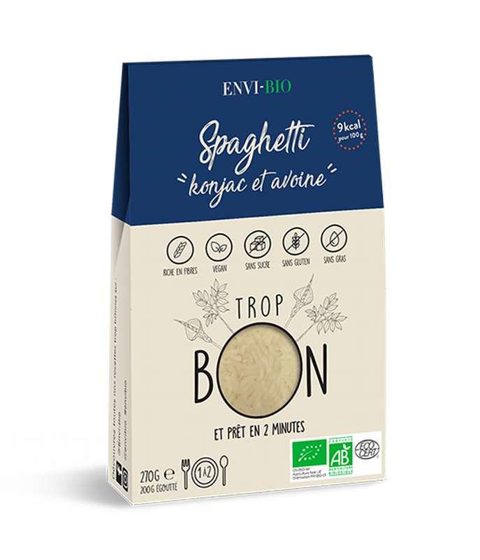 Spaghetti Konjac et avoine BIO, Envi-Bio (270 g)