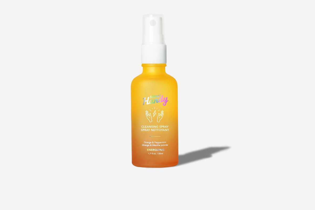 Spray nettoyant visage Énergisant, Merci Handy (50 ml)