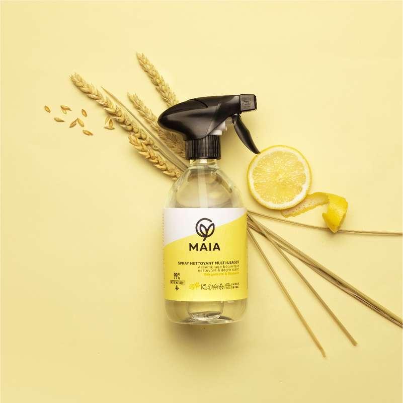Spray parfait bergamote et romarin, Maia (500 ml)