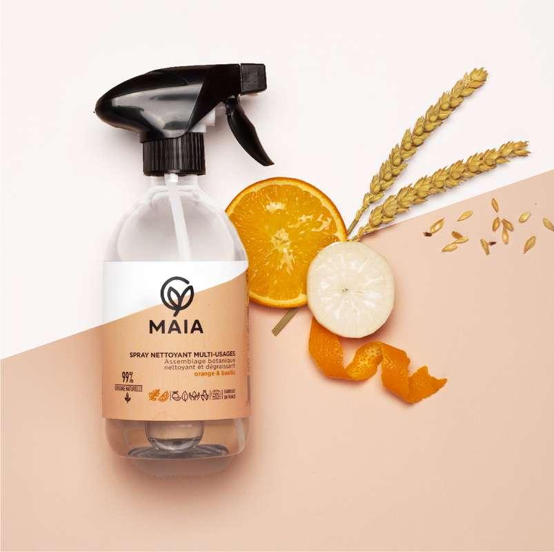 Spray parfait orange et basilic, Maia (500 ml)
