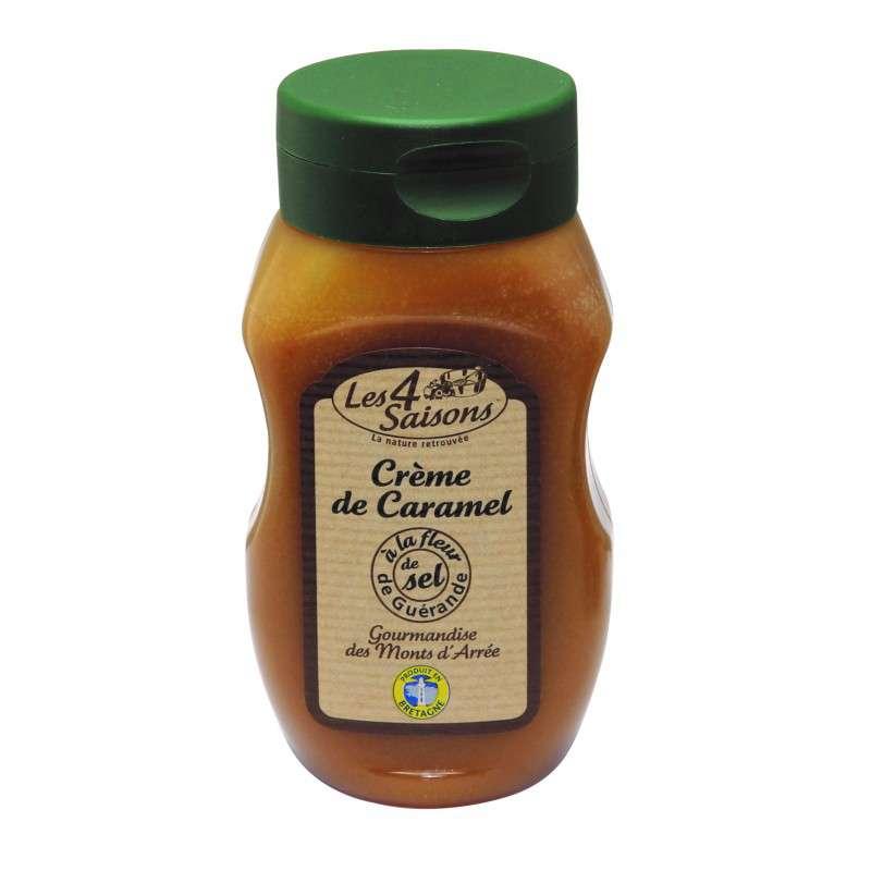 Crème de caramel fleur de sel, Les 4 saisons (300 g)
