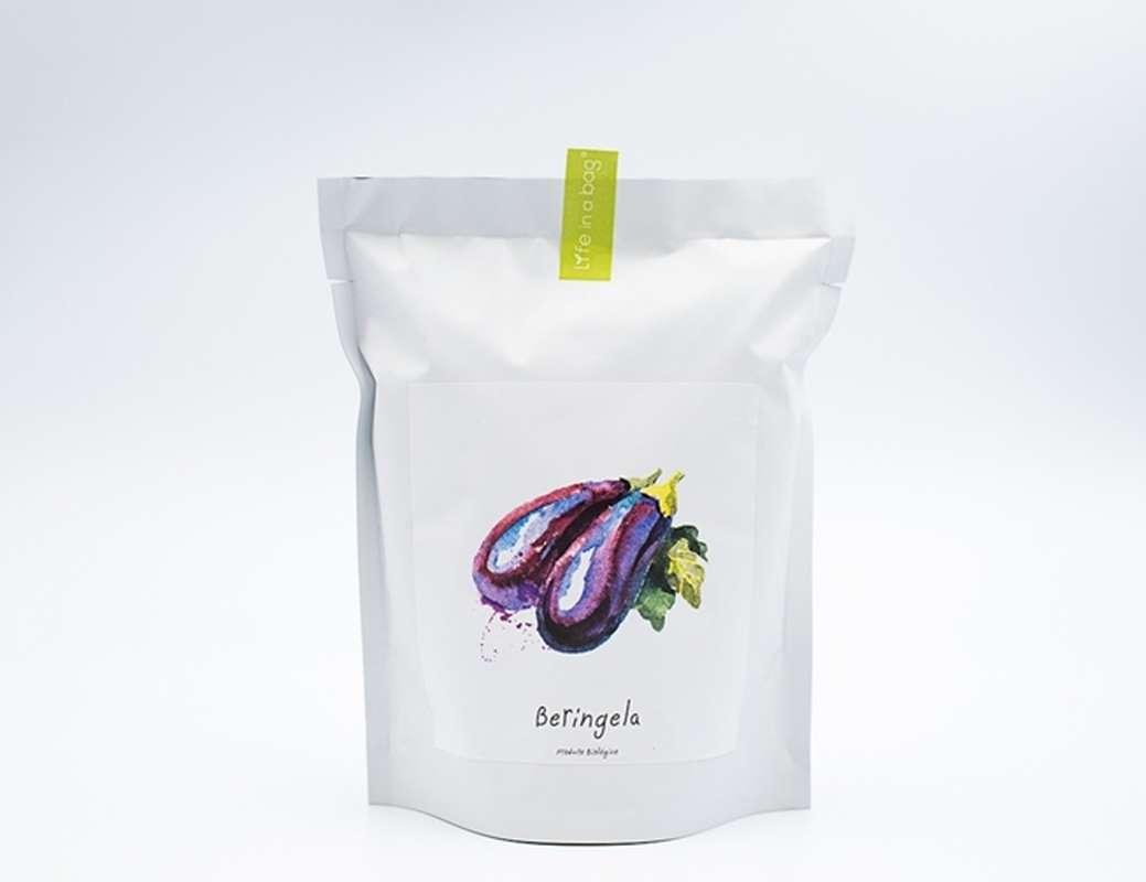 Starter Bag Aubergine Long Violet, Life In a Bag (300 g)