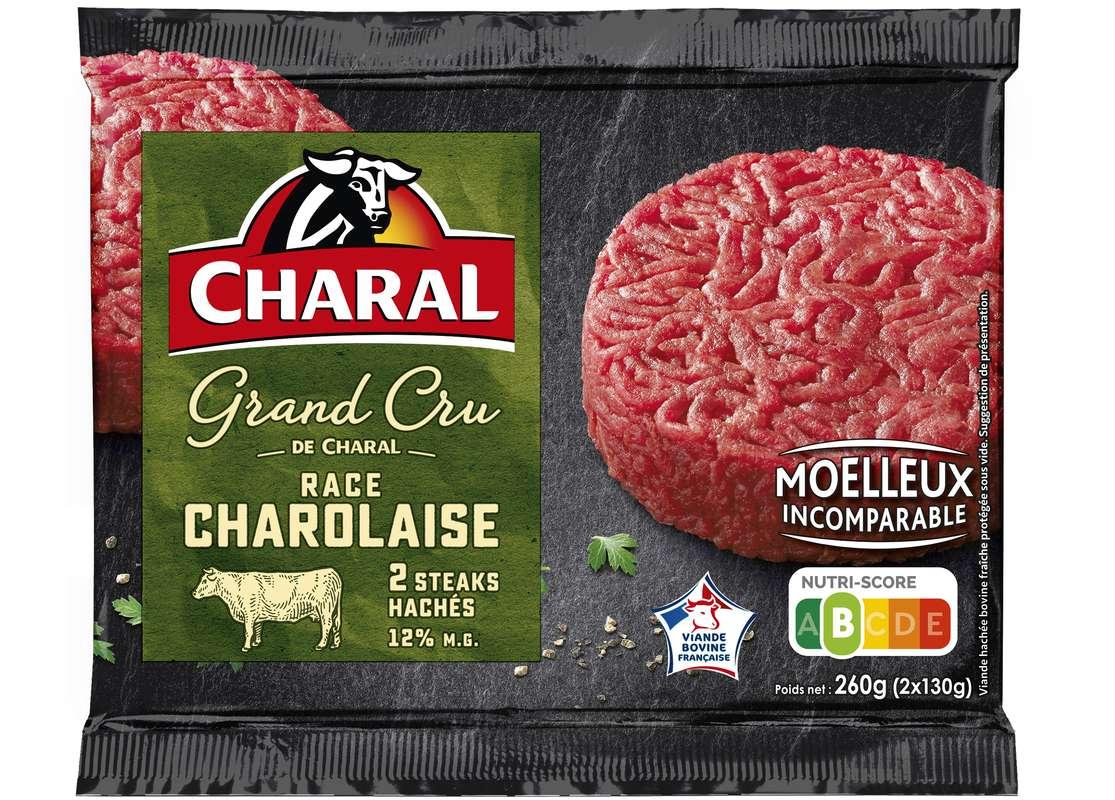 Steak haché grand cru race charolaise, Charal (x 2, 260 g)