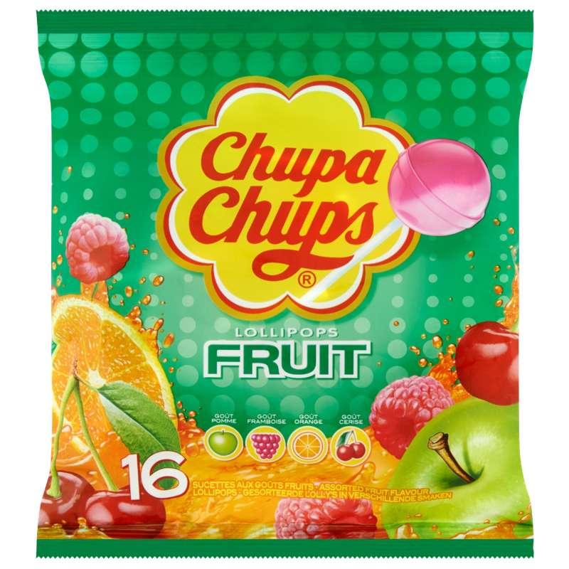 Sucettes Chupa Chups aux fruits (192 g)