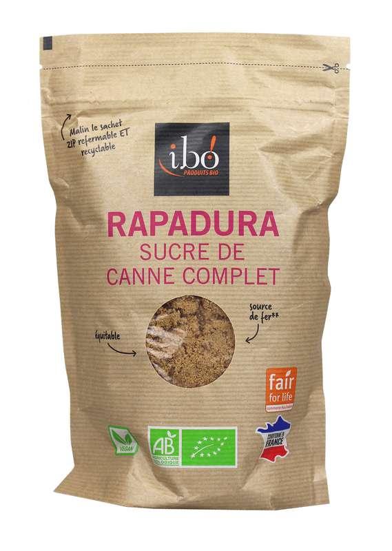 Sucre de canne complet Rapadura BIO, Ibo (500 g)
