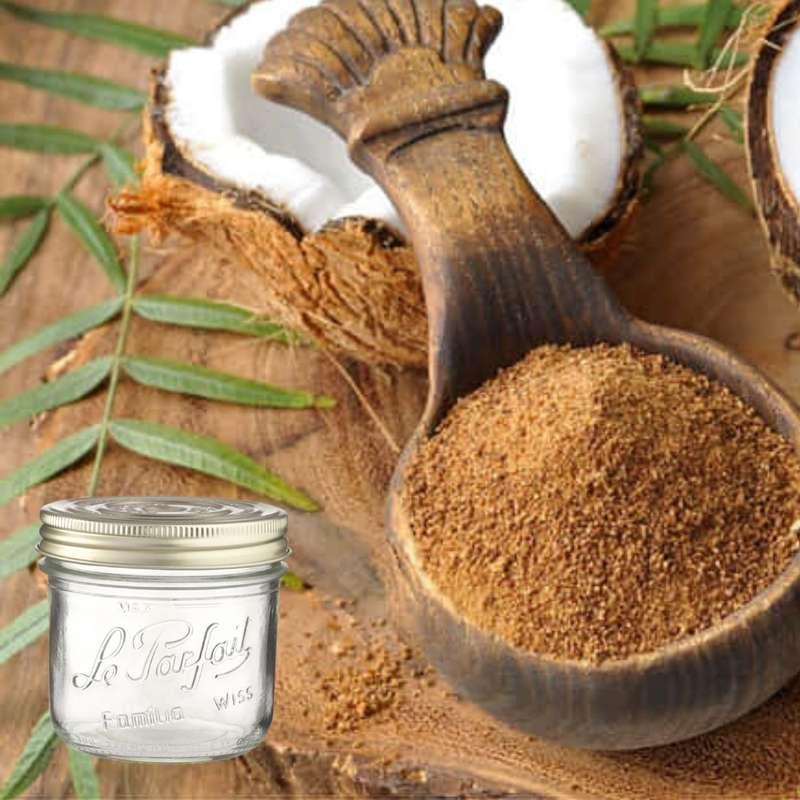 Sucre fleur de coco BIO bocal consigné / 2,5€ récupérable (720 g)