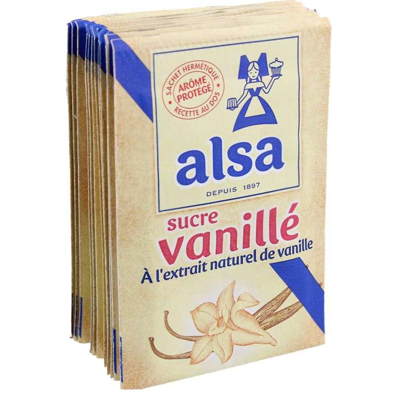 Sucre vanillé, Alsa (x 12 sachets, 90 g)