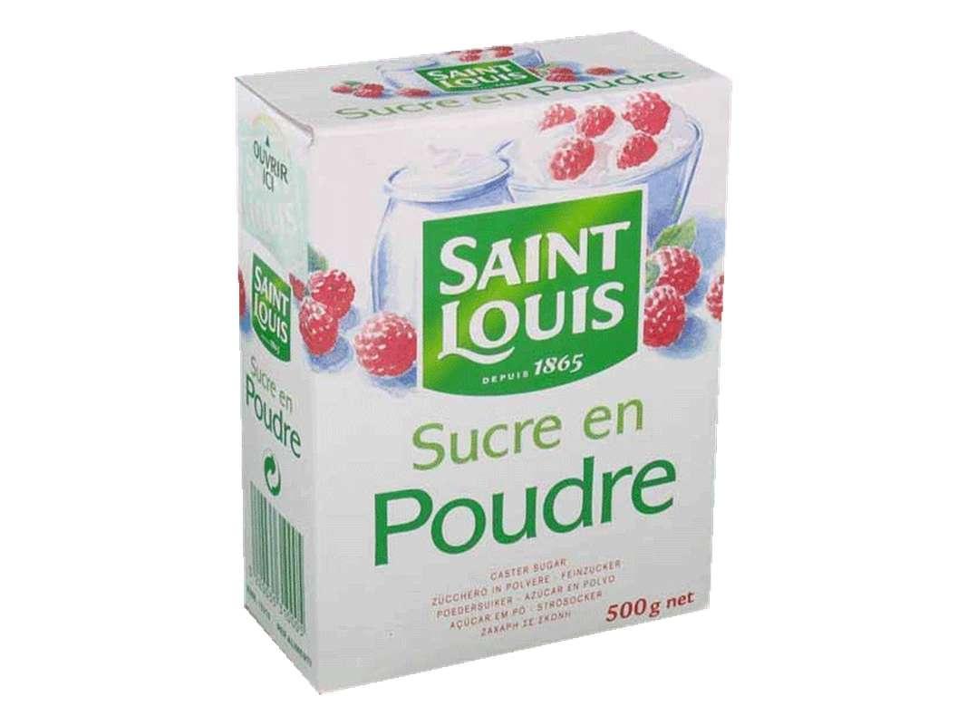 Sucre en poudre/semoule, Saint Louis (500 g)
