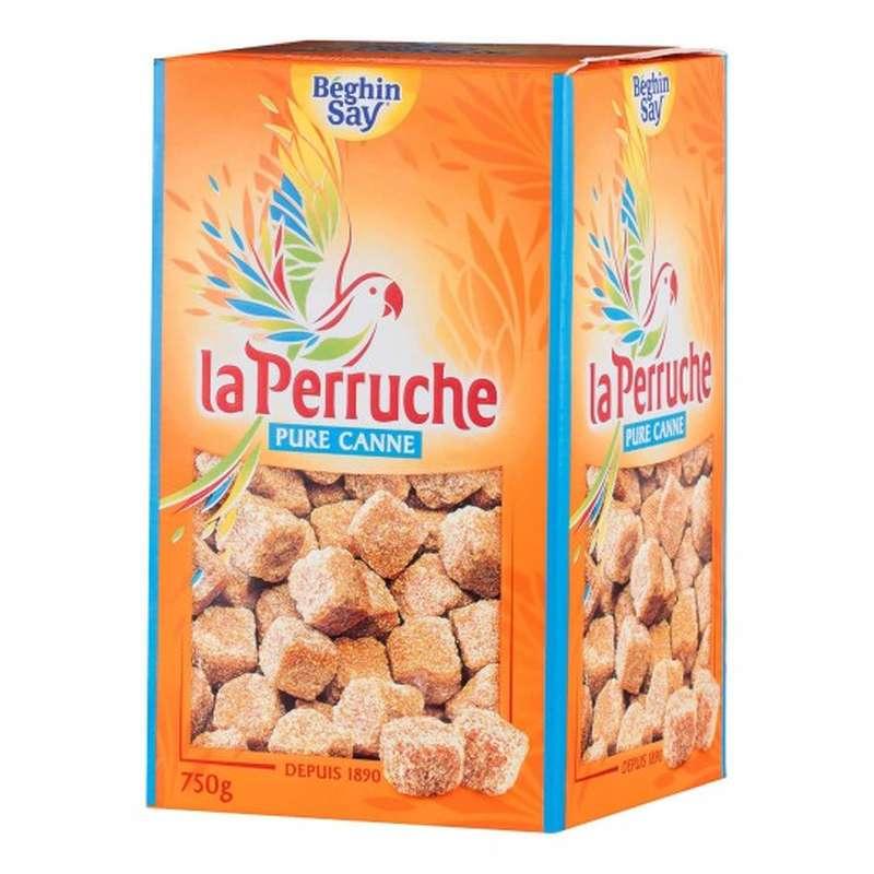 Sucre en morceaux pure canne La Perruche, Beghin Say (750 g)