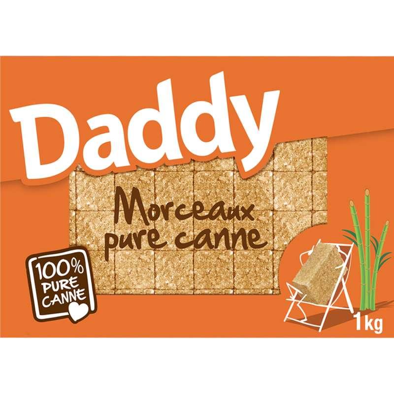 Sucres de canne en morceaux, Daddy (1 kg)