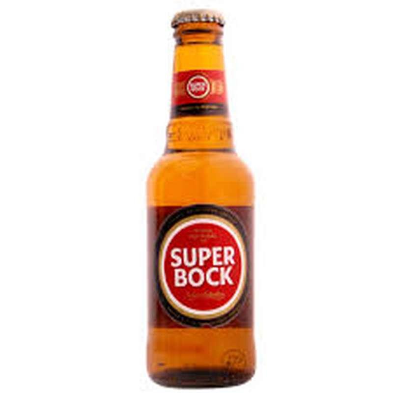 Super Bock blonde, 5.2° (25 cl)
