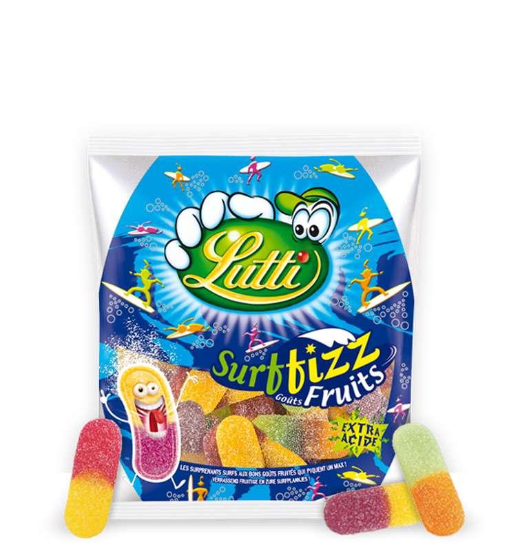 Bonbons langues Surffizz, Lutti (200 g)