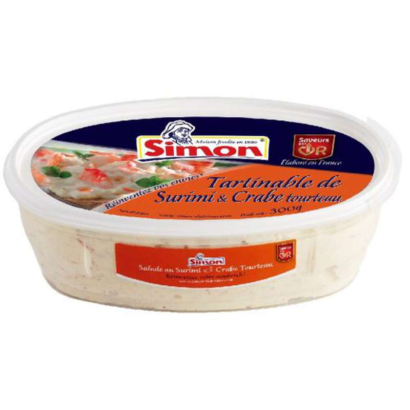 Tartinable surimi crabe tourteau, Simon (300 g)