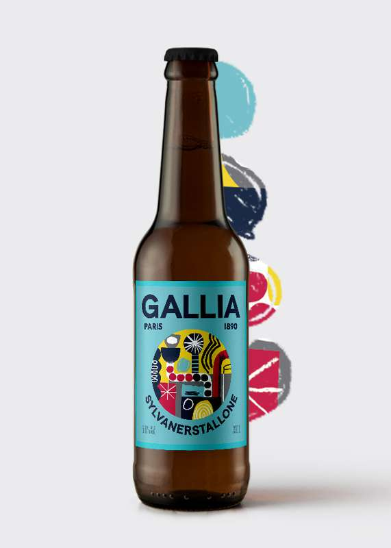 Sylvanerstallone 5,6% bière acide, Gallia (33 cl)