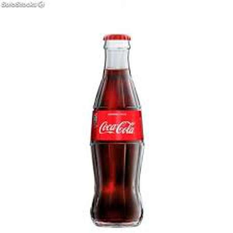 Coca Cola, bouteille en verre (25 cl)